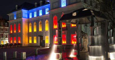 Beleuchtung und Gebäude - Installation.