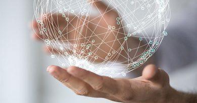 Distribution, Material- und Informationsfluss.