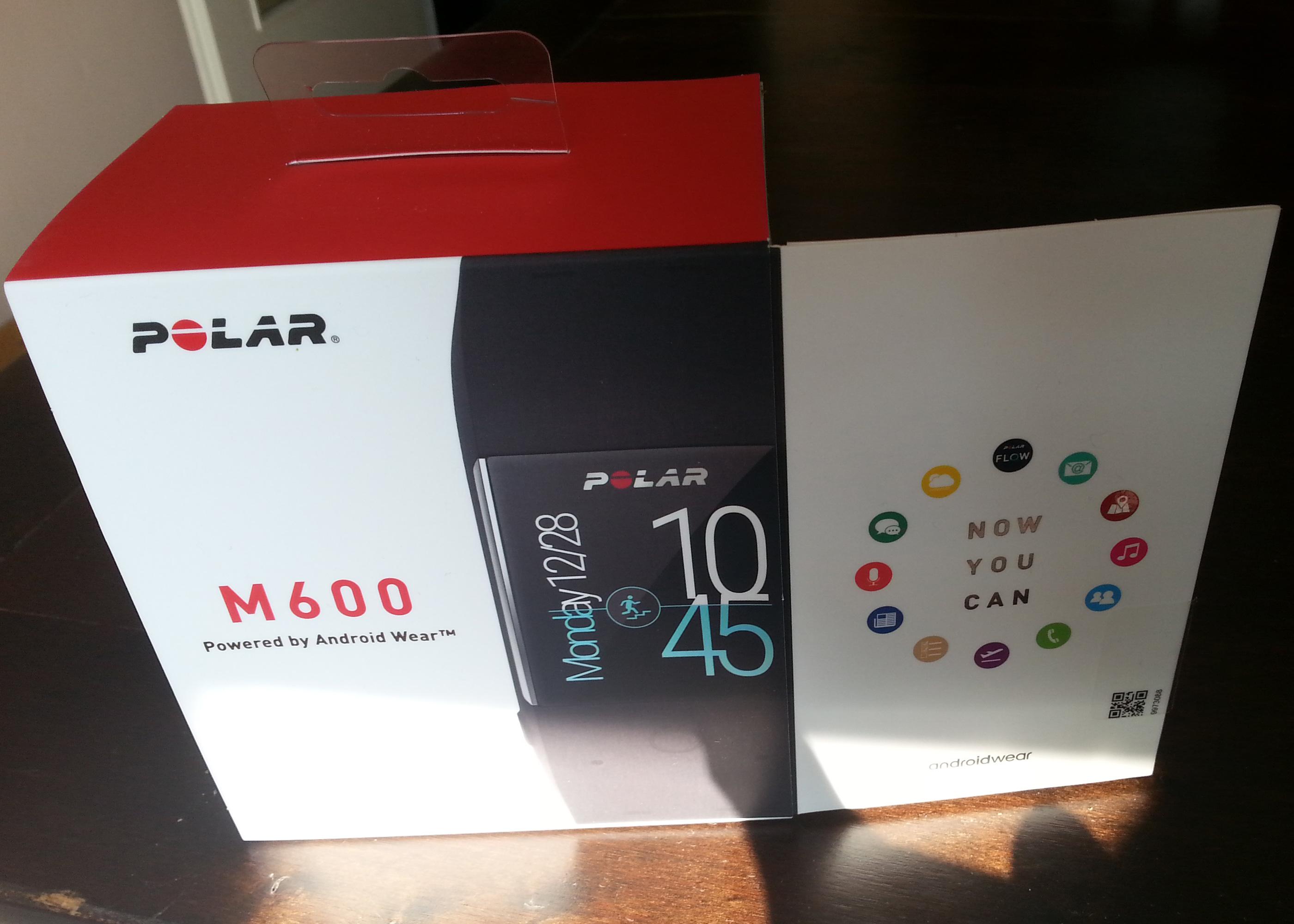 Polar M600 Sport- & Smartwatch Verpackung