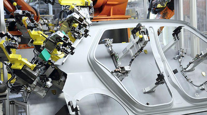 Produktions- und Montageautomatisierung - Robotertechnologie.
