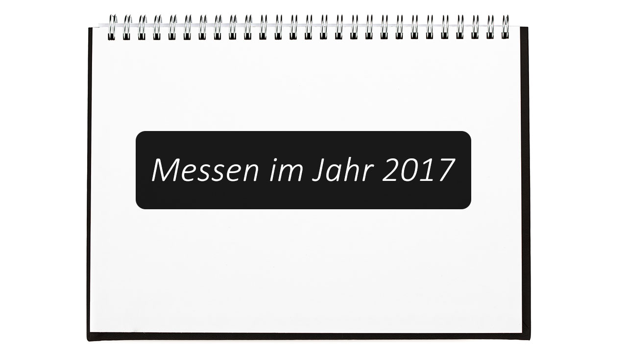 messen 2017 messekalender 2017 doopin. Black Bedroom Furniture Sets. Home Design Ideas