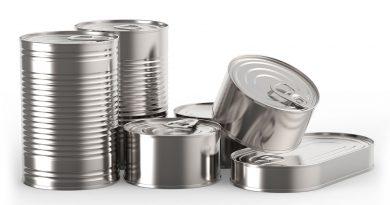 Metallverpackungen wie Konserven - die Metallverpackungsindustrie.