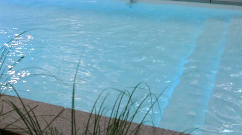 Pool im eigenen Garten.