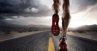 Running - Laufsport mit richtiger Sportkleidung, Ernährung und Wellness.