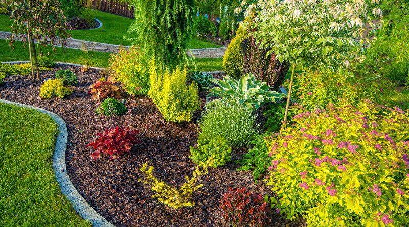 Schöne Gärten und Parkanlagen.