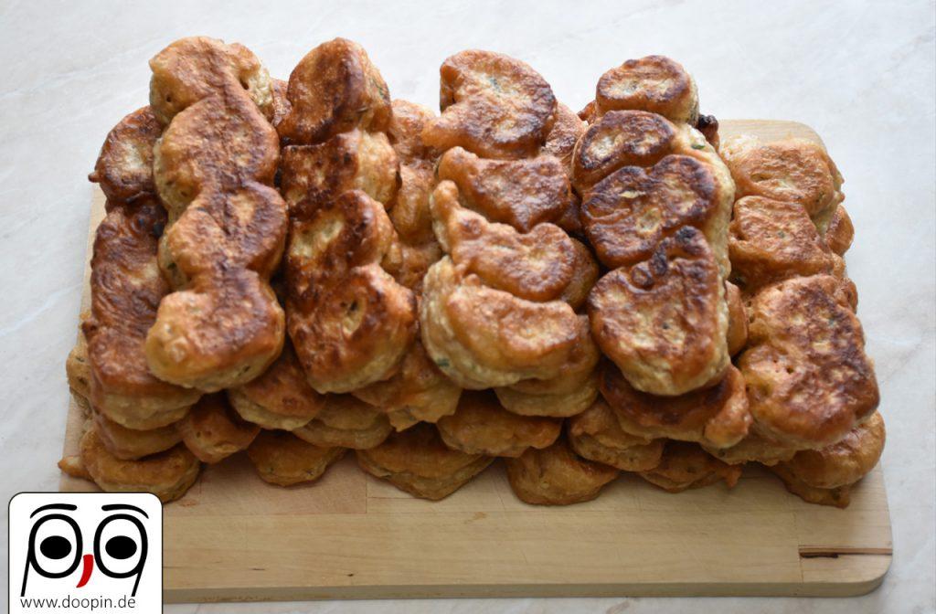 22 frisch gebackene Hauberlinge