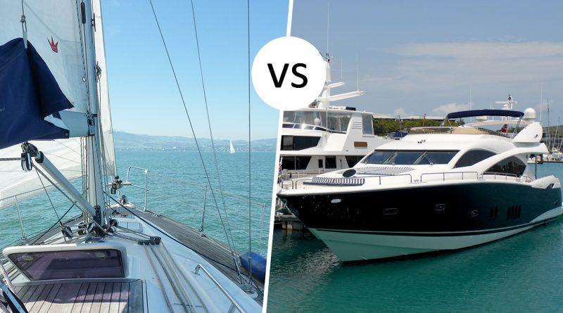 Segeln vs Motorboot – der Vergleich