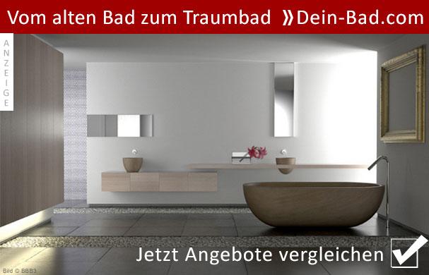 Badsanierung - vom alten Badezimmer zum Traumbad.
