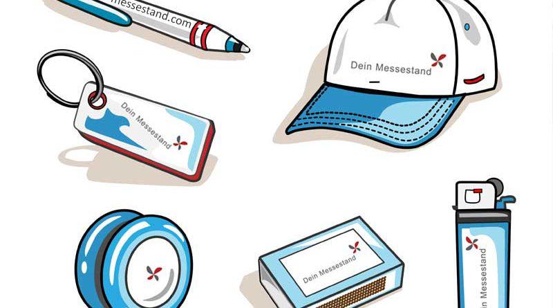 Werbeartikel, Feuerzeuge, Zündhölzer, Kugelschreiber mit individuellem Markenlogo und Design.