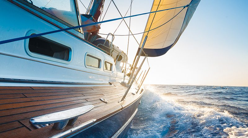 Boot, Yachten und Seegeltouren.