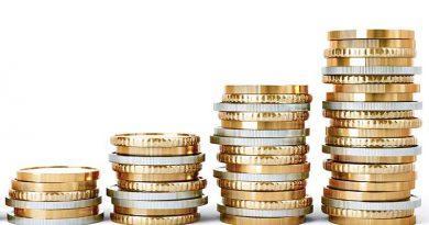Geldmünzen - Finanz- und Versicherungswirtschaft.