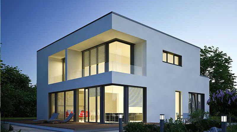 Gebäude, Immobilien und Investitionen.
