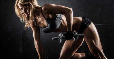 Fitness für einen durchtrainierten und definierten Body.