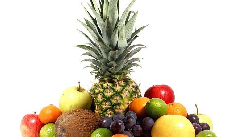 Logistik und Handel von frischem Obst und Gemüse.