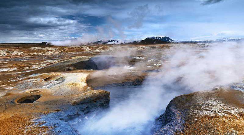 Natürliche Energiequellen - Geothermie.