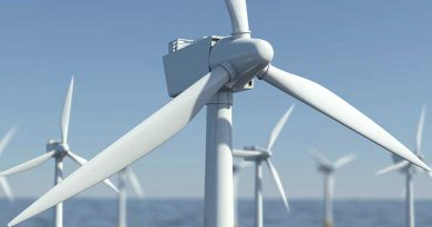 Erneuerbare, regenerative Energie - Windenergie.