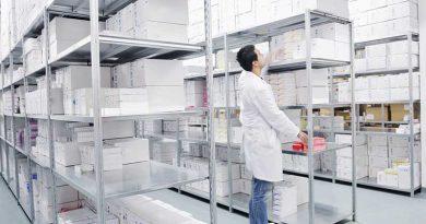Logistik, Regale, Warensysteme.