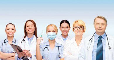 Gesundheitsmesse aus der Medizinbranche.