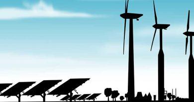 Umwelttechnik, erneuerbare, regenerative Energien, Windkraft, Solar.