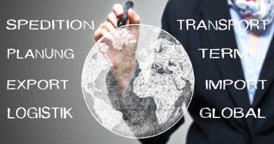 Die Globalisierung erfordert mehr Transport und Logistik.