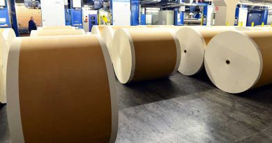 Papier- und Zellstoffindustrie - Zellulose und Papiertechnik.