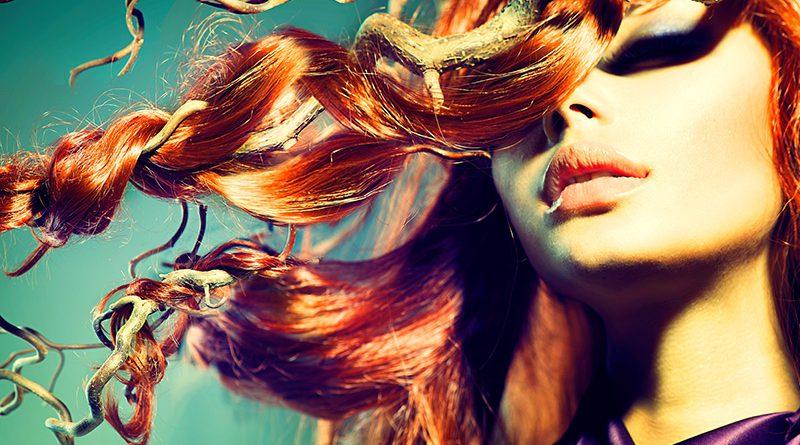 Glänzendes gesundes Haar. Haarpflege & Extensions.