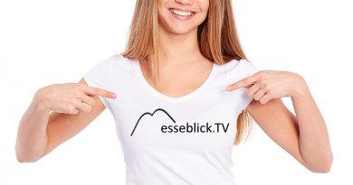 Gebrandetes T-Shirt - Textilveredlung und Promotion.