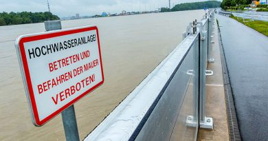 Hochwasserschutz, Klimafolgen und Katastrophenmanagement.