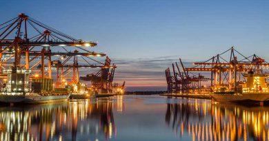 Im- und Exporthandel.