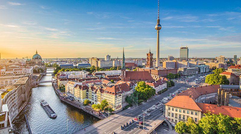 Berlin - die Hauptstadt Deutschlands.