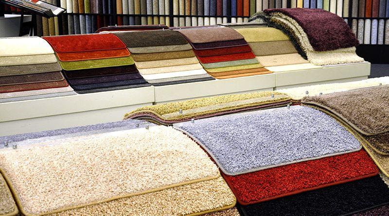 Teppiche, Vorleger und Bodenbeläge.