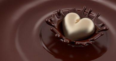 Süßwaren, Schokolade und Snacks.