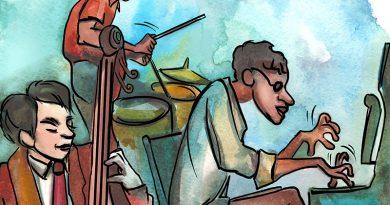 Jazzmusik Performer - Improvisations Musik.
