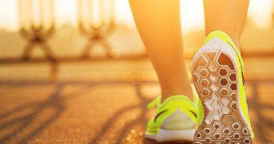 Running, Joggen im Outdoorbereich - Naturerlebnisse.