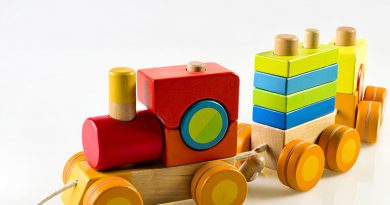 Spielzeug & Holzbausteine.