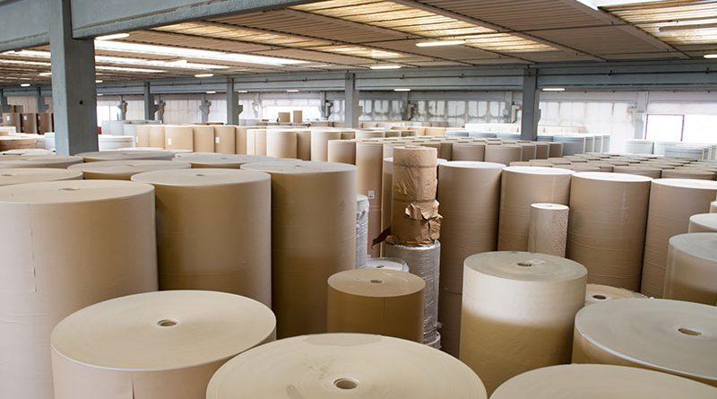 Papier- und Zelluloseherstellung.