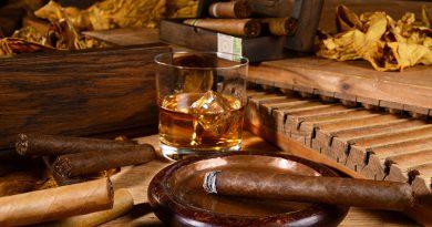 Tabakwaren, E-Zigaretten und Raucherbedarf.