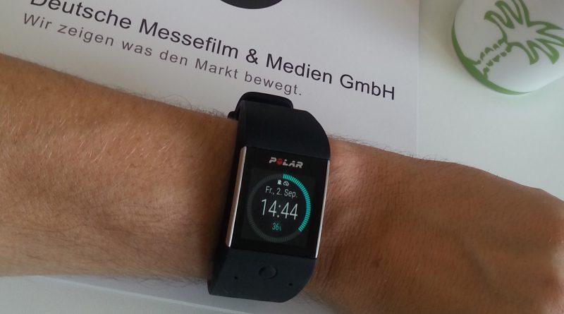 Polar Smartwach mit integriertem Messgerät.
