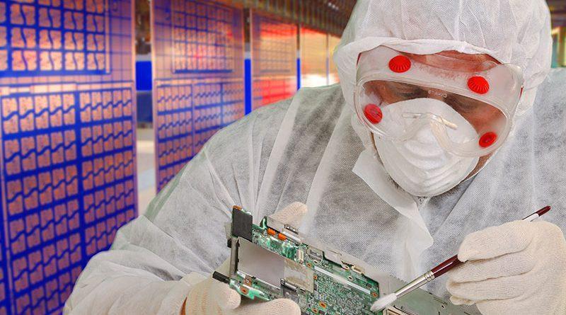Microtechnologie & Reinraumtechnologie in der Cleanzone Frankfurt.