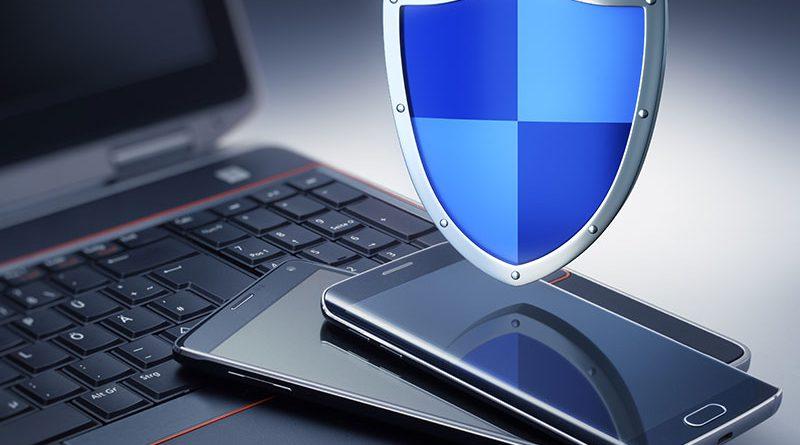 IT-Security, Datenschutz, Sicherheitssysteme gegen Hacker, Trojaner oder Viren.
