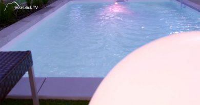 Pool, Schwimmbad und Wellness.