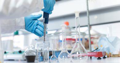 Biobasierte Wirtschaft bestehend aus den Grünen (Landwirtschaft), Roten (Medizin) und Weißen (Industrie) Biotechnologie.