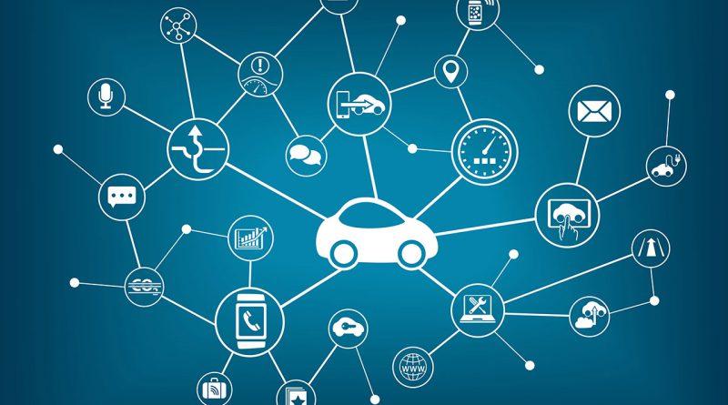 Vernetzte Fahrzeuge. Neue Technologien im Automobilbereich.