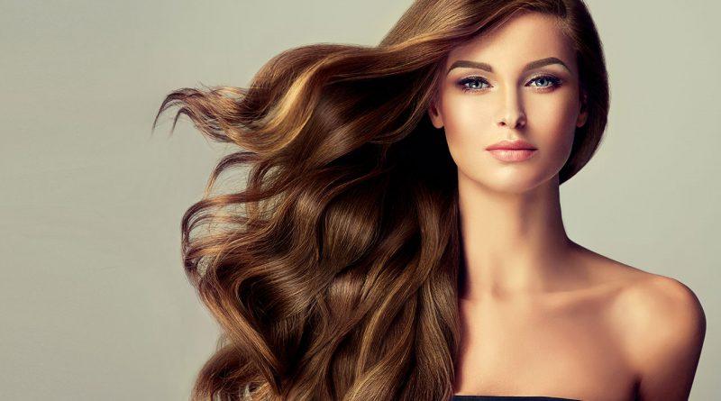 Schönheit, perfektes Aussehen und Kosmetik.