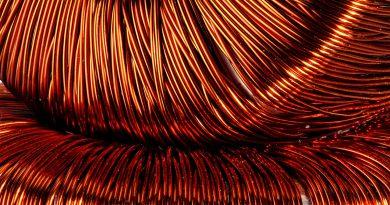 Kupfer Spulenwicklungen - Coil Winding.