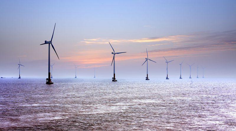 Windkraftanlagen - Windenergie bringt Strom für die Zukunft.