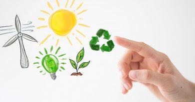 Wasser und Erneuerbare Energien.