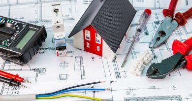 Gebäudetechnik, Elektrotechnik, Licht, Klima und Automation.