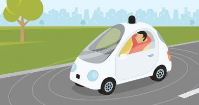 Automobile und Mobilität - selbstfahrendes Auto.