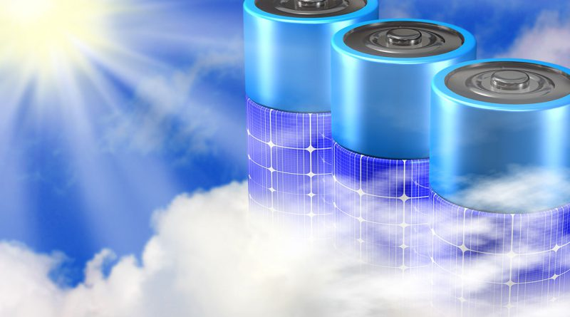 Energiespeicher, Akku und Batterien.